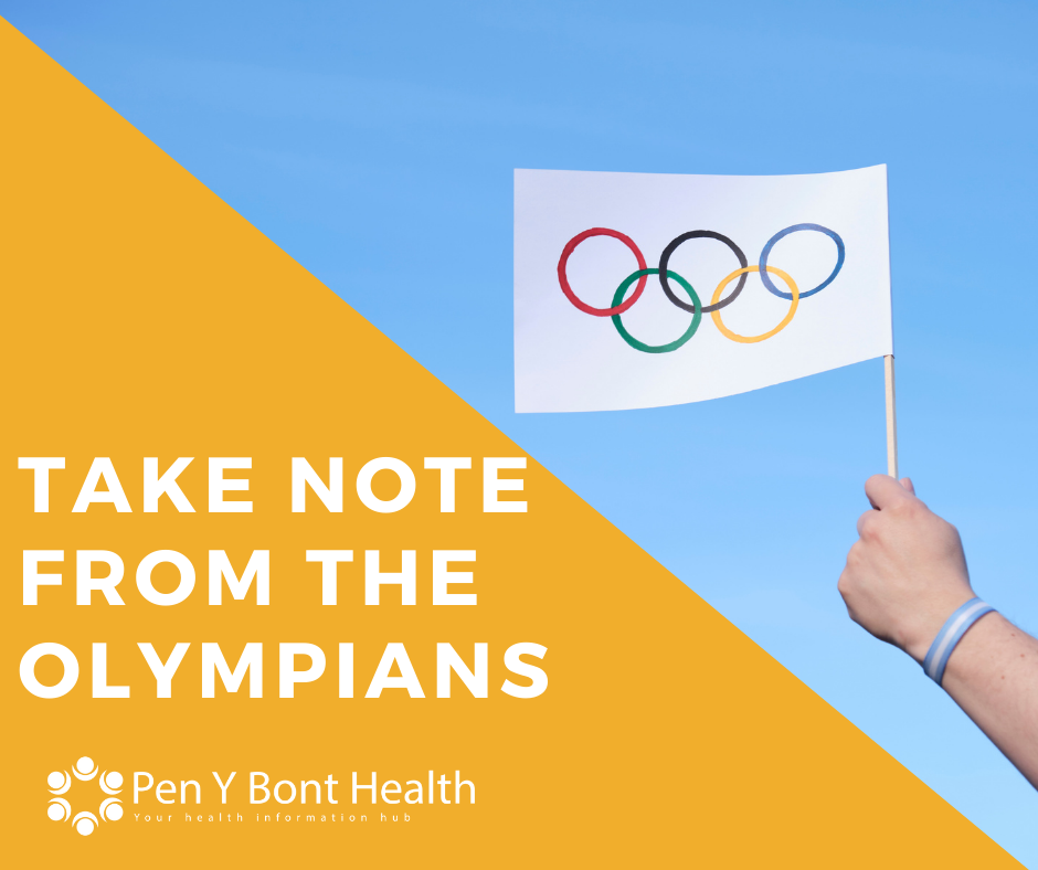 How to take note from Olympians to reduce symptoms and stresses of Type 2 Diabetes